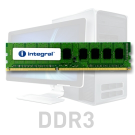 INTEGRAL 2GB 1066MHz DDR3 CL7 R1 DIMM 1.5V - IN3T2GNYBGX