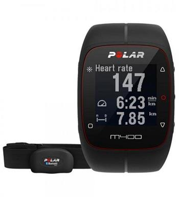 Polar M400 HR Black - 90051341