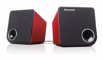 Lenovo Idea stereo reproduktory 2.0 M0620 - červené - 888013769