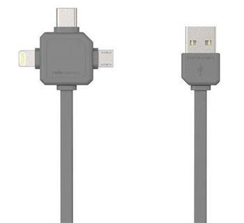 PowerCube USBcable USB-C Black - USBcable USB-C Black