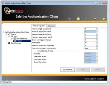 SafeNet SAC (SafeNet Authentication Client) - User 1License +3Y-Care - 10-43-110
