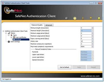 SafeNet SAC (SafeNet Authentication Client) - User 1License +1Y-Care - 1License +1Y-Care
