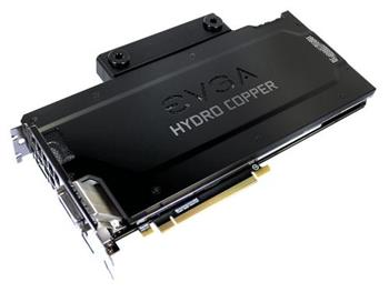 EVGA GeForce GTX 1080 FTW GAMING HYDRO COPPER / PCI-E / 8192MB GDDR5X / HDMI / 3xDP / DVI / VR Ready - 08G-P4-6299-KR