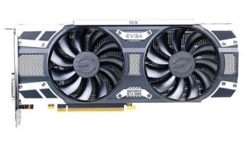 EVGA GeForce GTX 1080 SC2 GAMING iCX / PCI-E / 8192MB GDDR5X / DVI-D / HDMI / 3x DP / active - 08G-P4-6583-KR