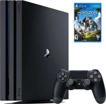 Sony PlayStation 4 PRO 1TB černý - PS719887256