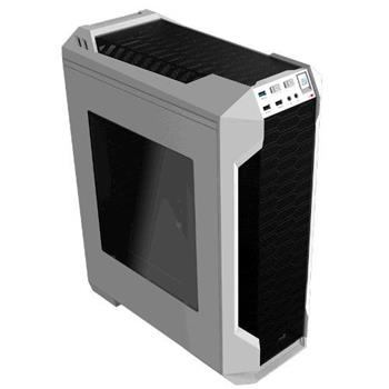 PC skříň Aerocool ATX LS 5200 WHITE, USB 3.0, bez zdroje - AERO-LS-5200WH