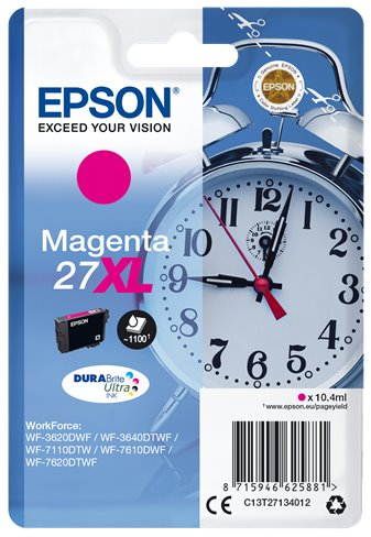 EPSON cartridge Magenta 27XL DURABrite Ultra Ink T2713 - C13T27134012