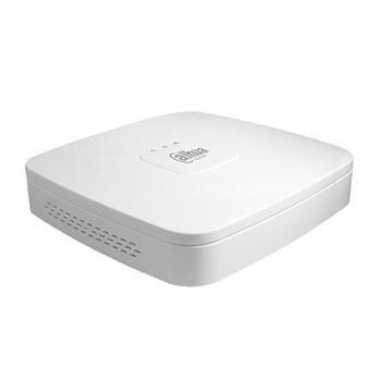 Dahua NVR rekordér 4xIP do 6Mpix, 80Mb/s, 1x LAN + 4x PoE, 1xHDD, HDMI/VGA, ONVIF - NVR2104-P-S2