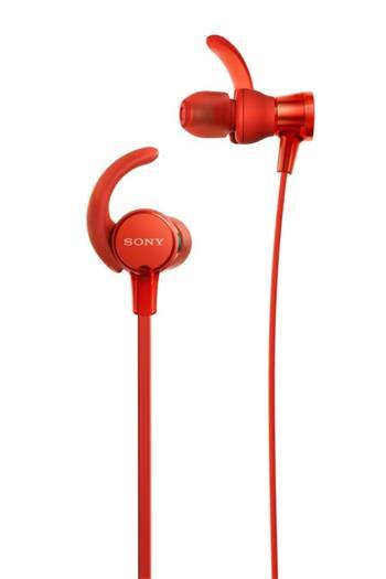Sony MDR-XB510AS sluchátka, červená - MDRXB510ASR.CE7
