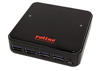 Roline USB 3.0 přepínač, 2 : 4, manuální - 14.01.2312