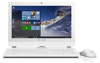 """Lenovo AIO S200Z/ N3700/ 4GB/ 500GB/ 19,5""""/ 4xUSB / WIN10, bílá - 10K5001EMC"""