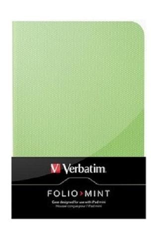 Verbatim Folio - Mint Green pro tablet iPad Mini, zelené - 98103