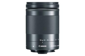 Canon EF-M 18-150mm f / 3.5-6.3 IS STM Black - 1375C005