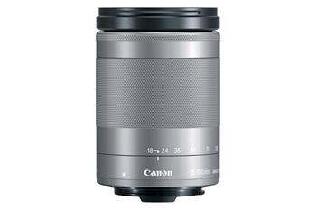 Canon EF-M 18-150mm f / 3.5-6.3 IS STM Silver - 1376C005