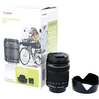 Canon EF-S 18-135mm f / 3.5-5.6 IS STM + EW73B + LC kit - 6097B013