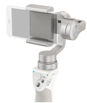DJI OSMO Mobile - Ruční stabilizátor pro mobilní telefony, stříbrný - DJI0657