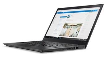 """Lenovo ThinkPad T470s i7-7600U/ 8GB/ 256GB SSD/ HD Graphics 620/ 14""""FHD IPS/ Win10PRO/ Black - 20HF0021MC"""