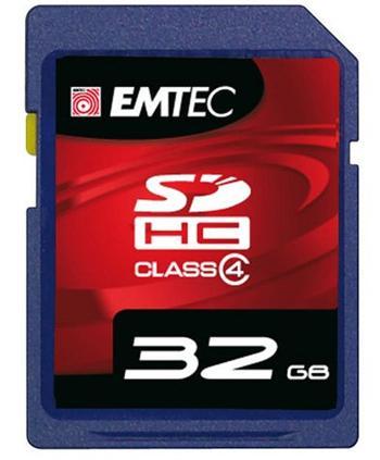 EMTEC SD 32GB HC Class 10 Platinum UHS-I U3 - EMCSD32GHC10SP