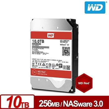 WD Red 10TB HDD 3.5'', SATA/600, 256MB - WD100EFAX