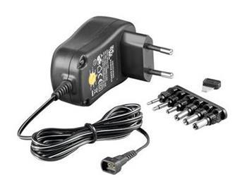 Univerzální napájecí adaptér 230V/3-12V stejnosměrný 600mA - ppadapter-108