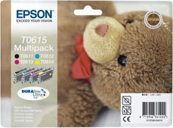 Epson ink. čer+bar Stylus D68/D88/DX3850/DX4850 - multipack - C13T06154010