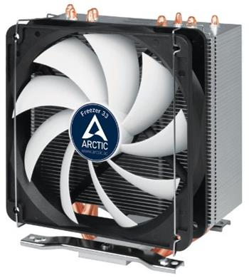 ARCTIC Freezer 33 - CPU Cooler for Intel socket 2011-v3 / 1156 / 1155 / 1150 / 1151, AMD socket AM4, direct touch techno - ACFRE00028A