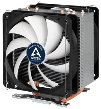 ARCTIC Freezer 33 PLUS, CPU Cooler for Intel Socket 2011(-v3) / 1150 / 1151 / 1155 / 1156 & AMD socket AM4, direct touch - ACFRE00032A