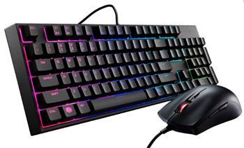 Cooler Master MasterKeys Lite L, herní set klávesnice a myši, RGB LED, US layout, černá - SGB-3040-KKMF1-US