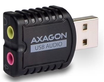 AXAGON USB2.0 - stereo audio MINI adapter - ADA-10