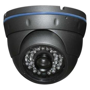 "XtendLan DOME IP kamera 1Mpix, 1/4"" Exmor CMOS, IR do 20m, 2,8mm, 1280x720, ICR, PoE, IP66, ONVIF, šedá - XL-ICA-270M1-28v2"