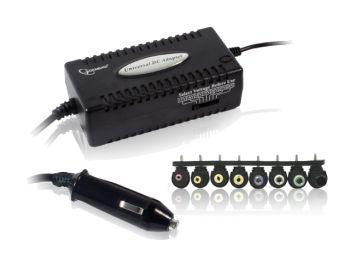 Gembird univerzální napájecí notebook adaptér do auta 12V/80W - anglický návod - NPA-DC1
