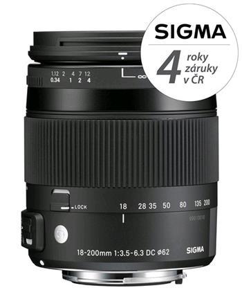 SIGMA 18-200/3.5-6.3 DC MACRO OS HSM Contemporary Nikon - 12115300