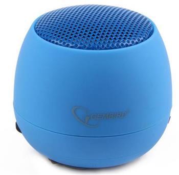 Gembird přenosné reproduktory (iPod, MP3 přehrávač, telefon, laptop), modrés - SPK-103-B