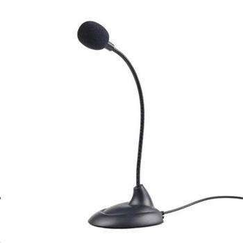 Mikrofon na stůl Gembird MIC-205, černý - MIK051120