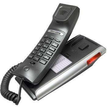 MaxCom KXT400 Clip stolní telefon, tónová volba, redial, montáž na stěnu - KXT400GRSR