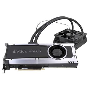 EVGA GeForce GTX 1070 GAMING HYBRID / PCI-E / 8192MB GDDR5 / HDMI / 3x DP / DVI - 08G-P4-6178-KR