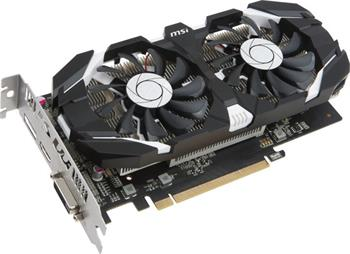 MSI GeForce GTX 1050 2GT OC / PCI-E/ 2GB GDDR5 / DVI / HDMI / DP - GTX 1050 2GT OC