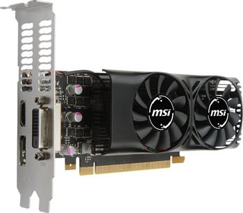 MSI GeForce GTX 1050 2GT LP/ PCI-E/ 2GB GDDR5 / DVI / HDMI / DP - GTX 1050 2GT LP