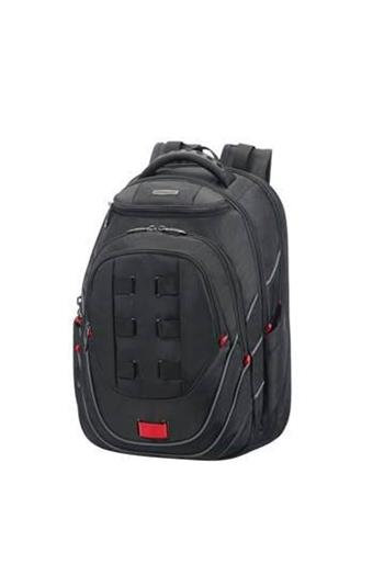 SAMSONITE Backpack 59N19001 17.3'' LEVIATHAN black/red - 59N-19-001
