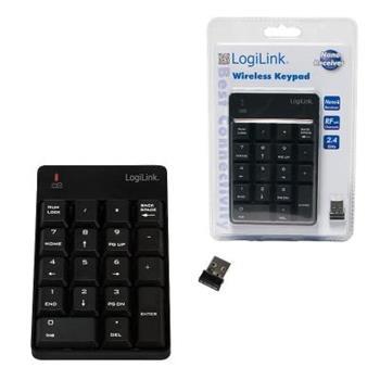 LOGILINK - Bezdrátová numerická klávesnice, 18 kláves - ID0120