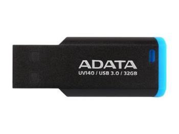 A-Data flashdisk UV140, 32GB, USB 3.0, černá a modrá - AUV140-32G-RBE