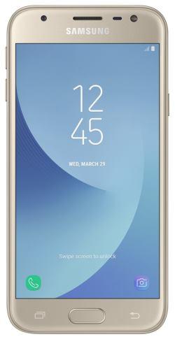 Mobilní telefon Samsung Galaxy J3 (SM-J330F) Dual SIM Gold - SM-J330FZDDETL