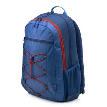 HP 15.6 Active Backpack Marine Blue/Coral Red, batoh na notebook 1MR61AA - 1MR61AA