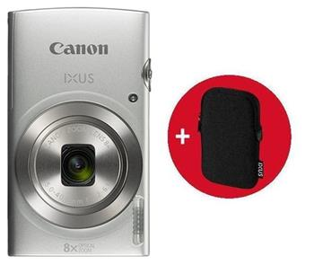 Canon IXUS 190 Silver Essential Kit - 1797C010