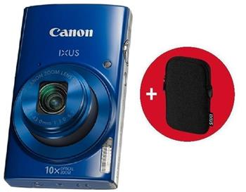 Canon IXUS 190 Blue Essential Kit - 1800C010