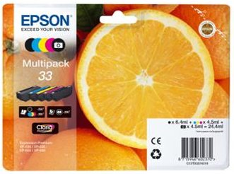 Epson Multipack 5-colours 33 Claria Premium Ink - C13T33374011