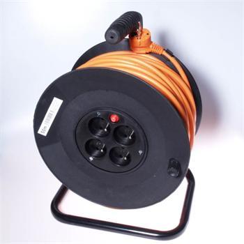 PremiumCord Prodlužovací kabel 230V 50m buben - ppb-01-50
