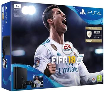 SONY PlayStation 4 1TB Slim + FIFA 18 - PS719913269