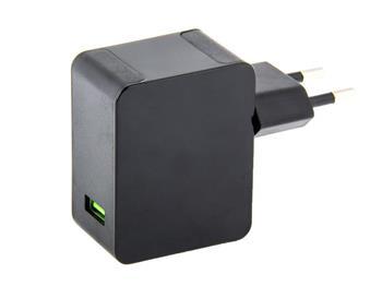 AVACOM HomeMAX síťová nabíječka Qualcomm Quick Charge 3.0, černá - NASN-QC1X-KK