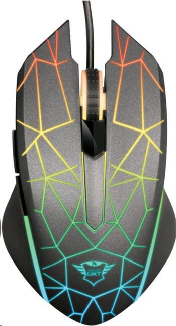 TRUST Myš GXT 170 Heron RGB Mouse - 21813